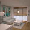 Anteproyecto con imágenes en 3D sala comedor