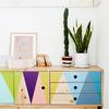 Mueble artesanal pintado
