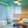 baño azulón