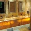 Limpieza baño con hongos