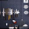 Cuchillos organizados con imanes
