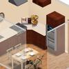 Instalar cocina integral y sala comedor,   decoracion y pintura