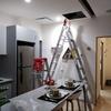 Colocación de luminarias en Suite.