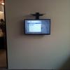 colocación de soporte de pantalla