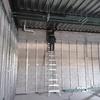 Colocación de tuberías de pvc pesado.