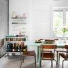 Comedor con muebles vintage