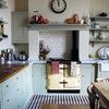 Cocina con color