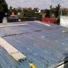 Poner un techo con estructura metalica, para un salón de fiestas