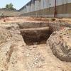 Excavaciones para tanque de almacenamiento de agua pluvial