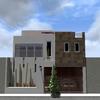 Aplanado de fachada casa habitación