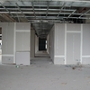 Instalación plafón espumado modular en sanitario de oficina