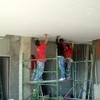 Instalacion de placas de panel de tablaroca
