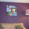 Paleta de colores en violetas