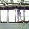 Preparación de soportaría  para la colocación de plafón falso.