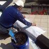 Preparacion para Impermeabilizacion de trabes invertidas