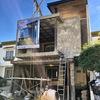 Proceso de obra fachada acabados