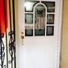 Puertas de entrada con grabados