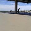 Pulido de piso de concreto.
