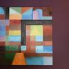 Replica de una pintura de Paul Klee