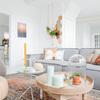 Sala con decoración de diseño