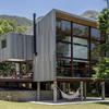 Casa construida con sistema steel frame