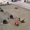 Vaciado de concreto hidráulico.