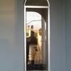 ventana en escaleras