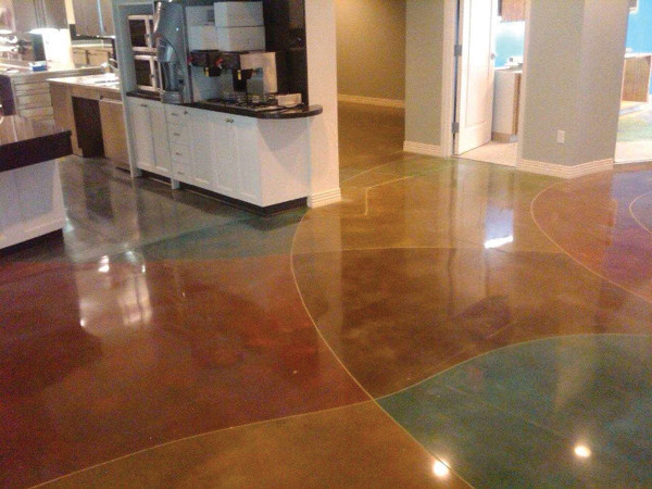 Pisos de epoxy o pavimento de resina c mo y d nde - Pintura para pisos de cemento ...