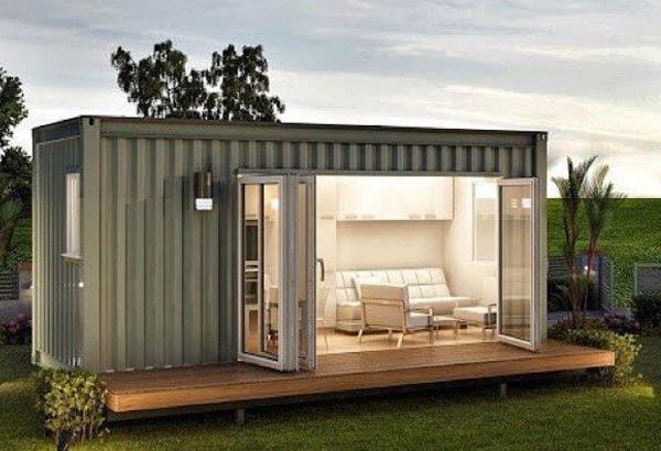 Casa en contenedor maritimo casa container casa diseo casa con casa hechas con maritimos - Casa contenedor maritimo precio ...