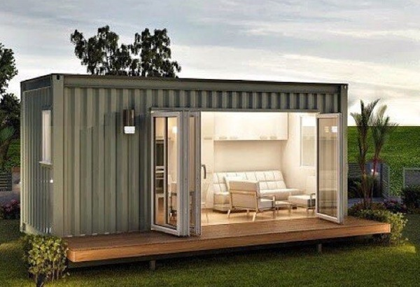 Contenedor maritimo casa affordable scale modern model - Contenedor maritimo casa ...