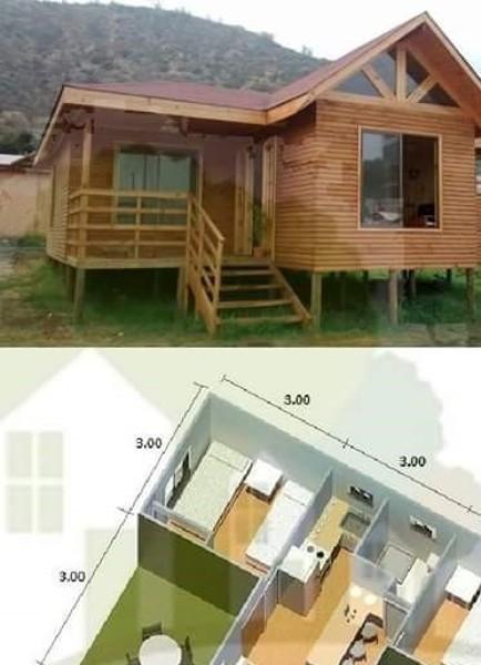 Cu nto costar a construir una caba a de madera peque a - Como hacer una cabana de madera ...