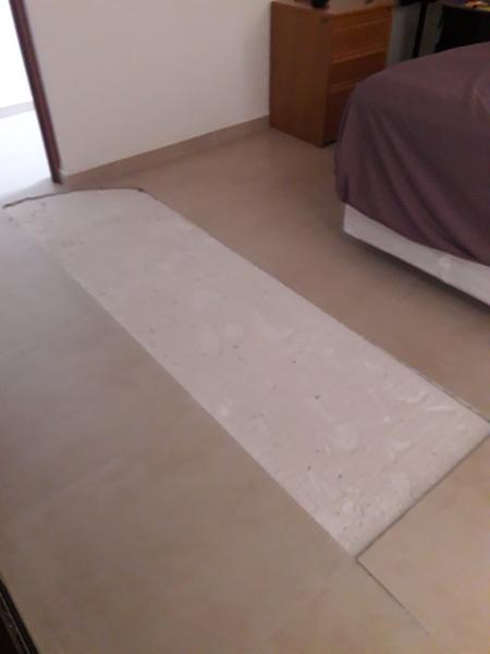 ¿Cómo reparar piso de la recamara?