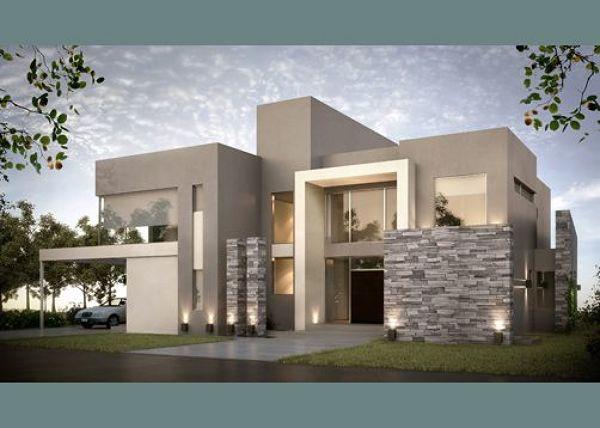 Cu l es el costo por realizar un plano de casa moderna Casas modernas precio construccion
