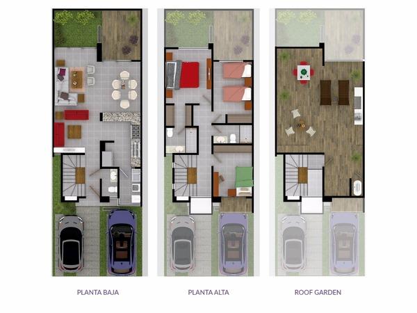 Cu nto costar a la construcci n de una casa en un terreno for Plantas arquitectonicas de casas