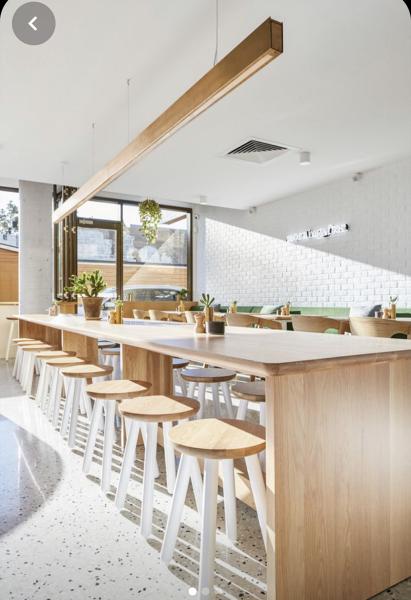 ¿Cuánto costaría abrir una cafetería así?