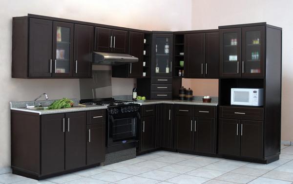 Cuánto cuesta una cocina con muebles de madera como la de la foto ... 0a14d6a4ec2f