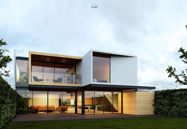 ¿Cuánto cuesta la construcción de una casa de 120m2 en terreno de 200m?