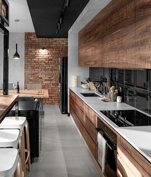 ¿Cuánto costaría una cocina como la de la imagen?