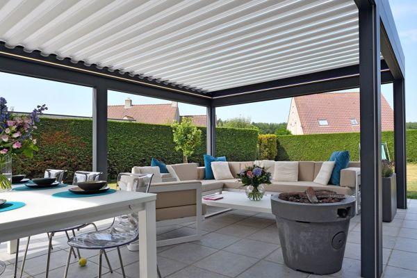 ¿Qué tipo de cubierta o techo me aconsejan colocar en una terraza?