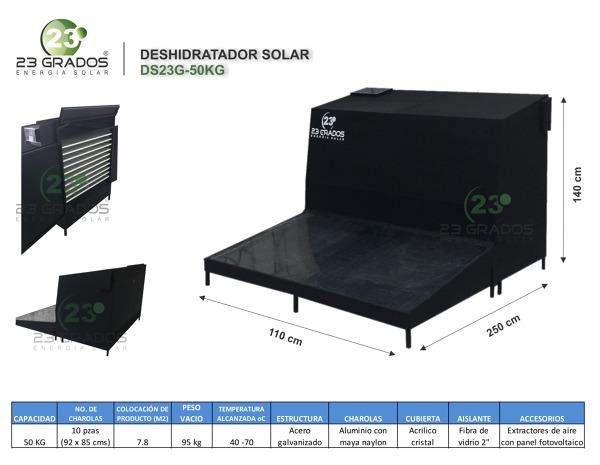 ¿Qué precio tiene un deshidratador solar?