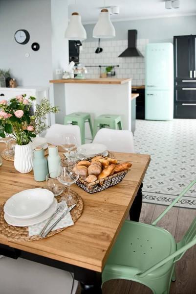 ¿Qué piso es mejor para la cocina?