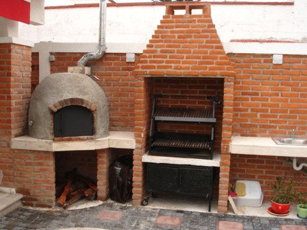Qu precio tiene la construcci n de un horno de le a y - Fotos de barbacoas rusticas ...