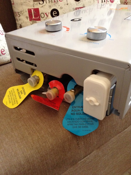 ¿Cómo conectar un boiler de paso sin tinaco?