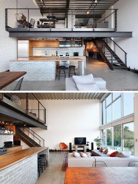 ¿Cuál es el costo de la construcción de una casa de estilo industrial?