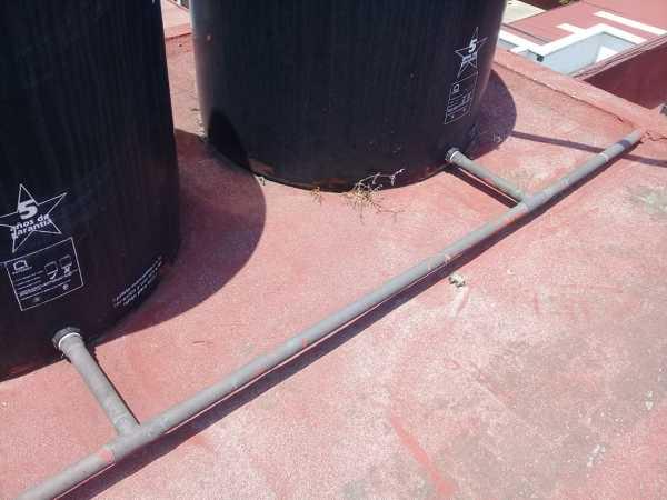 Para solucionar abasto de agua cisterna