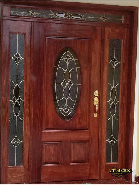 ¿Cuánto cuesta un juego de vitrales para puerta?