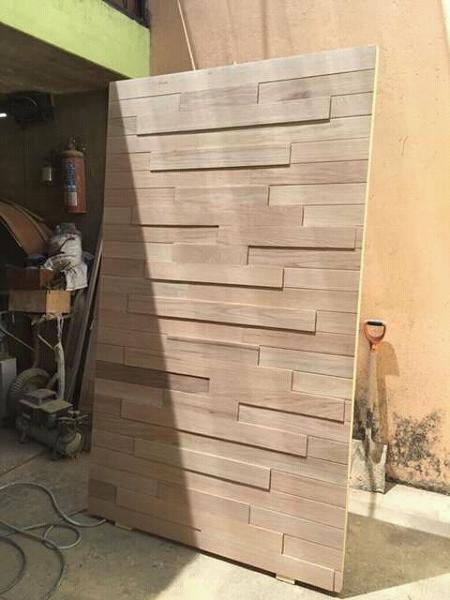 ¿Se puede hacer una puerta a medida y corrediza con este material?