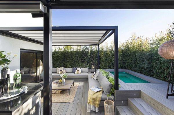 ¿Qué tipo de techo me recomendaría instalar en una terraza de un Penthouse?