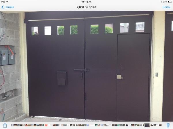 Necesito cotizaci n de esta puerta con el mismo dise o y - Cuanto me costaria construir una casa ...
