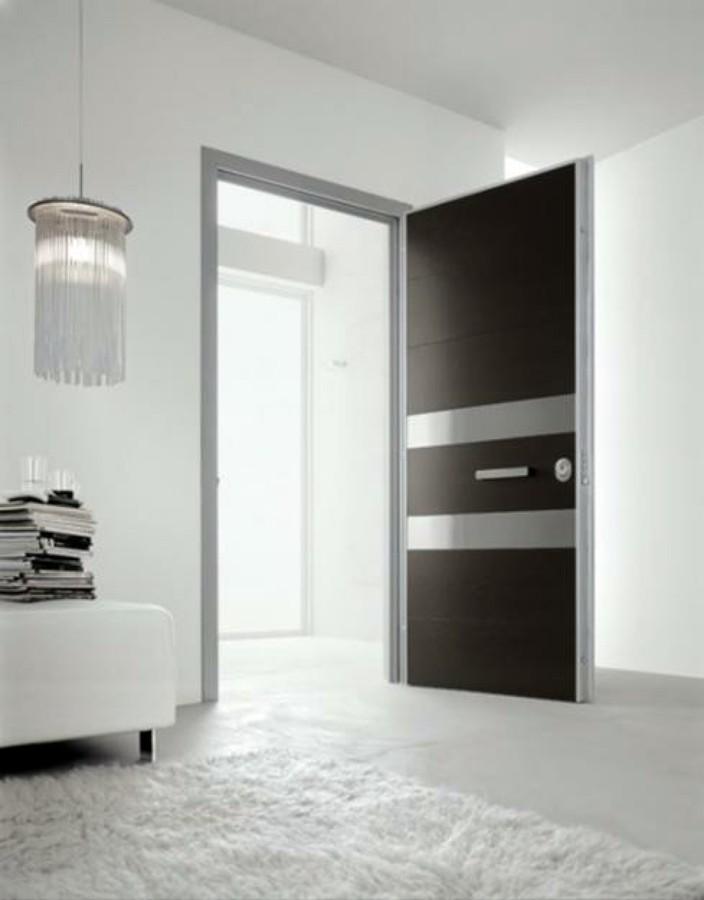 Puertas de ba o minimalistas for Puertas minimalistas exterior